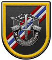 46th Special Forces Company SF Group all metal Sign  14 x 16""