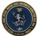 """US Naval Special Warfare Basic Underwater Demolition Seal BUD/S Personalize 14"""""""