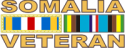 Somalia Veteran Ribbon Decal
