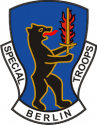 Special Troops Berlin Brigade (Right)  Decal