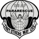 USAF Pararescue Decal