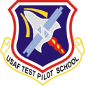 USAF Test Pilot School  Decal