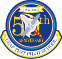 USAF Test Pilot School 50th Anniversary  Decal
