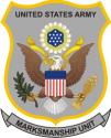U.S. Army Marksmanship Unit  Decal