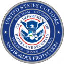 U.S. Customs and Border Protection - 2 Decal