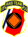 U.S. Coast Guard RAID Team Decal