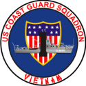 Coast Guard Squadron One Decal