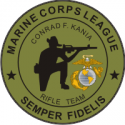 USMC League Rifle Team Decal