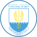 USS Cook FF-1083 Decal