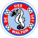 USS Walton  Decal