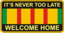 Vietnam Welcome Home Decal