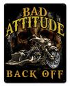 BAD ATTITUDE BAD ASS BAGGER