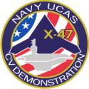 X-47 Unmanned Combat Air System Demonstration Decal