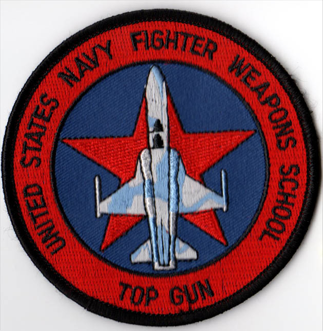 Fighter Weapon School Top Gun Patch North Bay Listings
