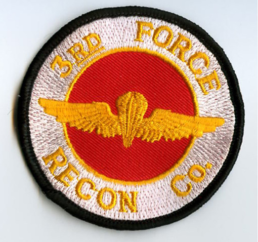 Usmc 3rd Force Recon Company Patch North Bay Listings