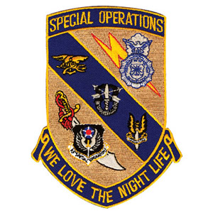 We Own The Night Patch