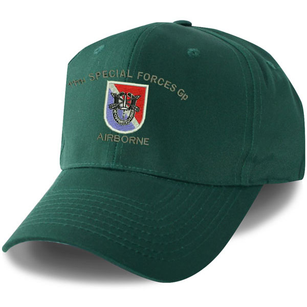 11th Special Forces Direct Embroidered Green Ball Cap  c6cf72ccbaea