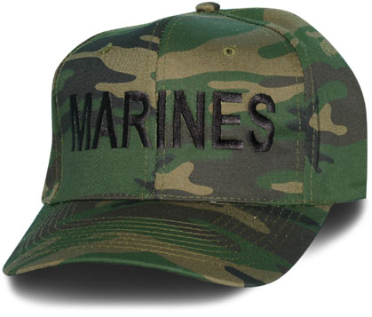 MARINES Letters only Direct Embroidered Camo Ball Cap  7ffbcf402f8f