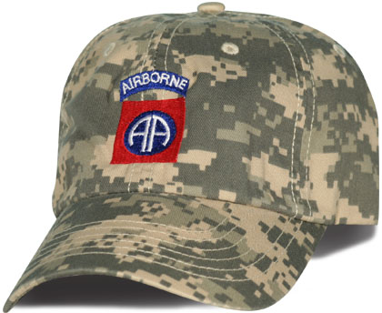 82nd Airborne Direct Embroidered ACU Ball Cap  dc5467082dd