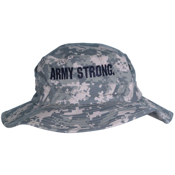 69a63bbf788 Army ARMY STRONG Direct Embroidered ACU Boonie Hat