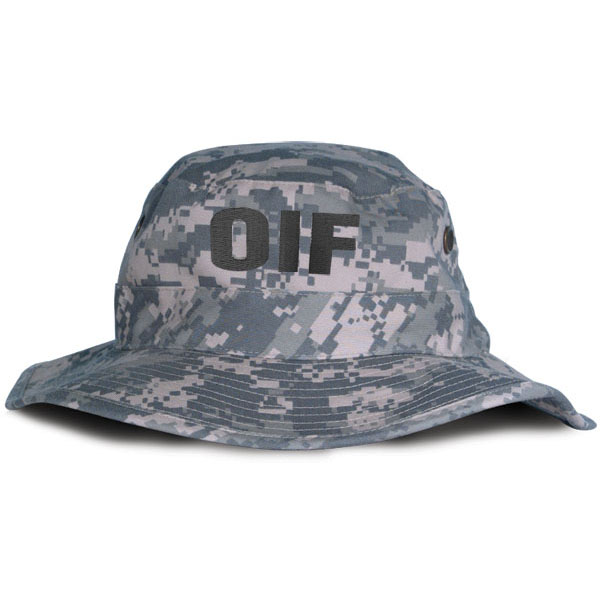 72617ba0e6a OIF Direct Embroidered ACU Boonie Hat. Army ...