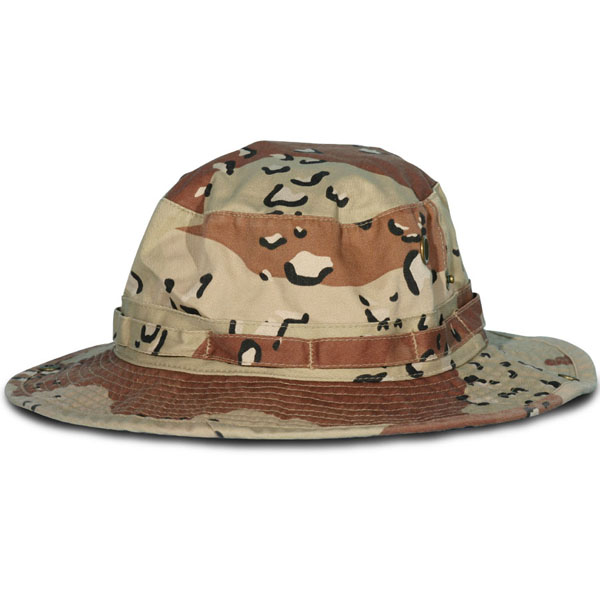 4bccc9b0307 6 Color Desert Camo Boonie Hat. Army ...