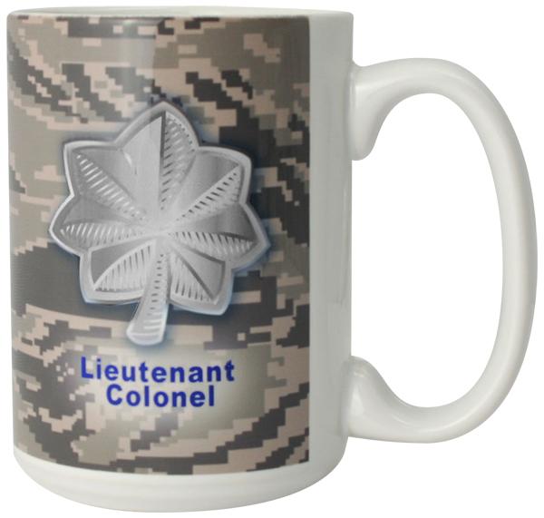 Us Air Force Symbol Lieutenant Colonel Full Color Sublimation On