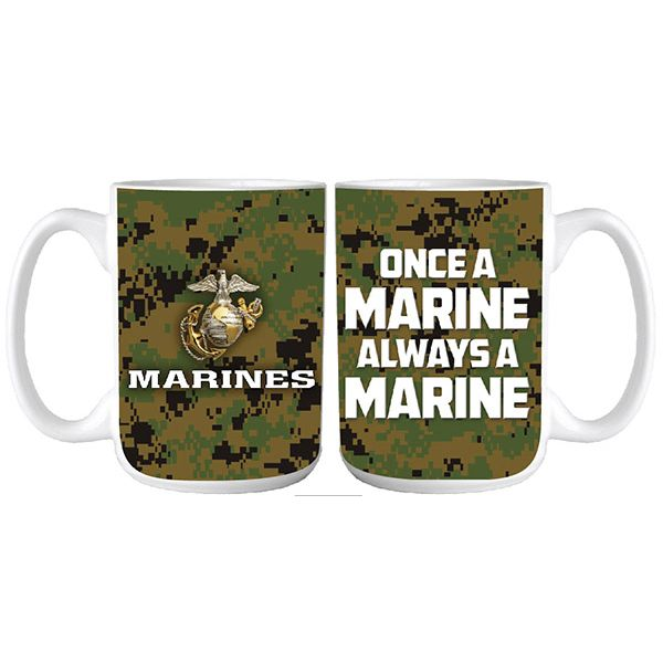 once a marine always a marine bold font with digital