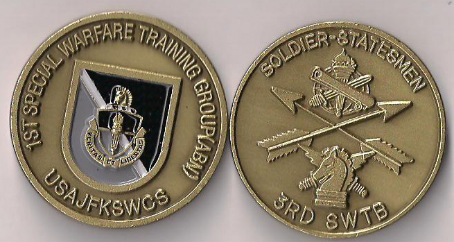 1st Warfare Training Group Special Forces Challenge Coin