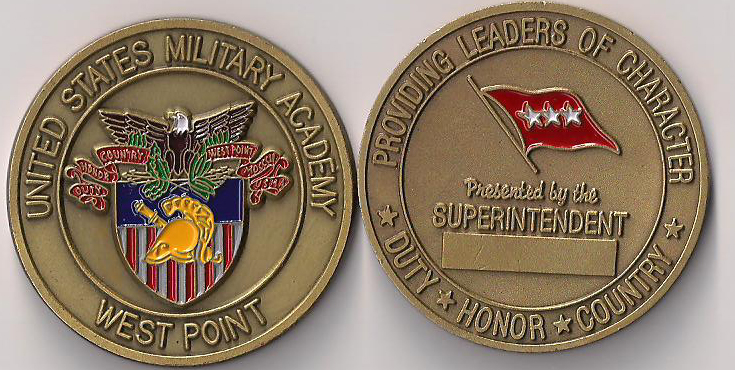West Point United States Military Academy Challenge Coin