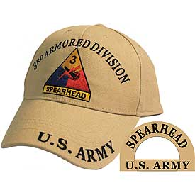 3rd Armor Division Hat | North Bay Listings