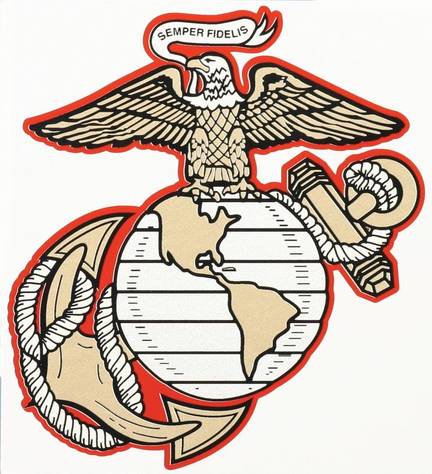 USMC Eagle Globe And Anchor Decal