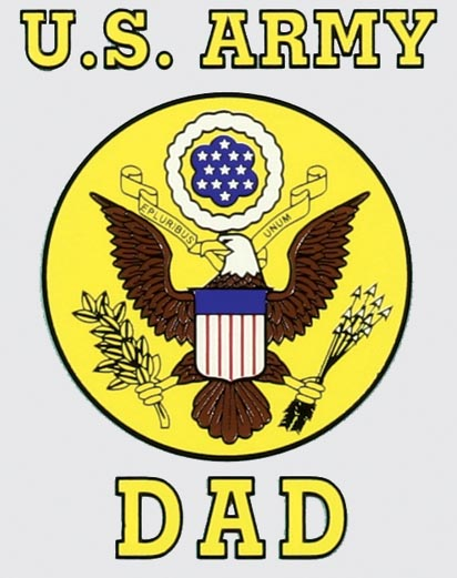 Us Army Dad With Eagle Logo Decal North Bay Listings