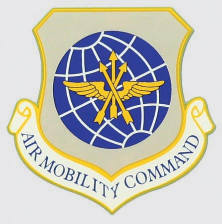 Air Force Air Mobility Command Shield Decal | North Bay Listings