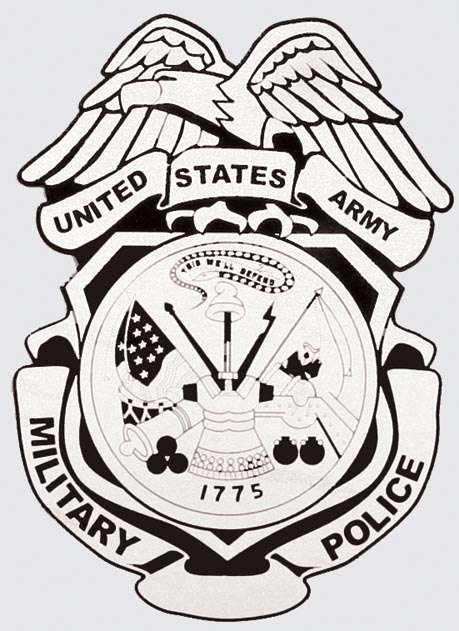 Army Military Police Badge Decal North Bay Listings