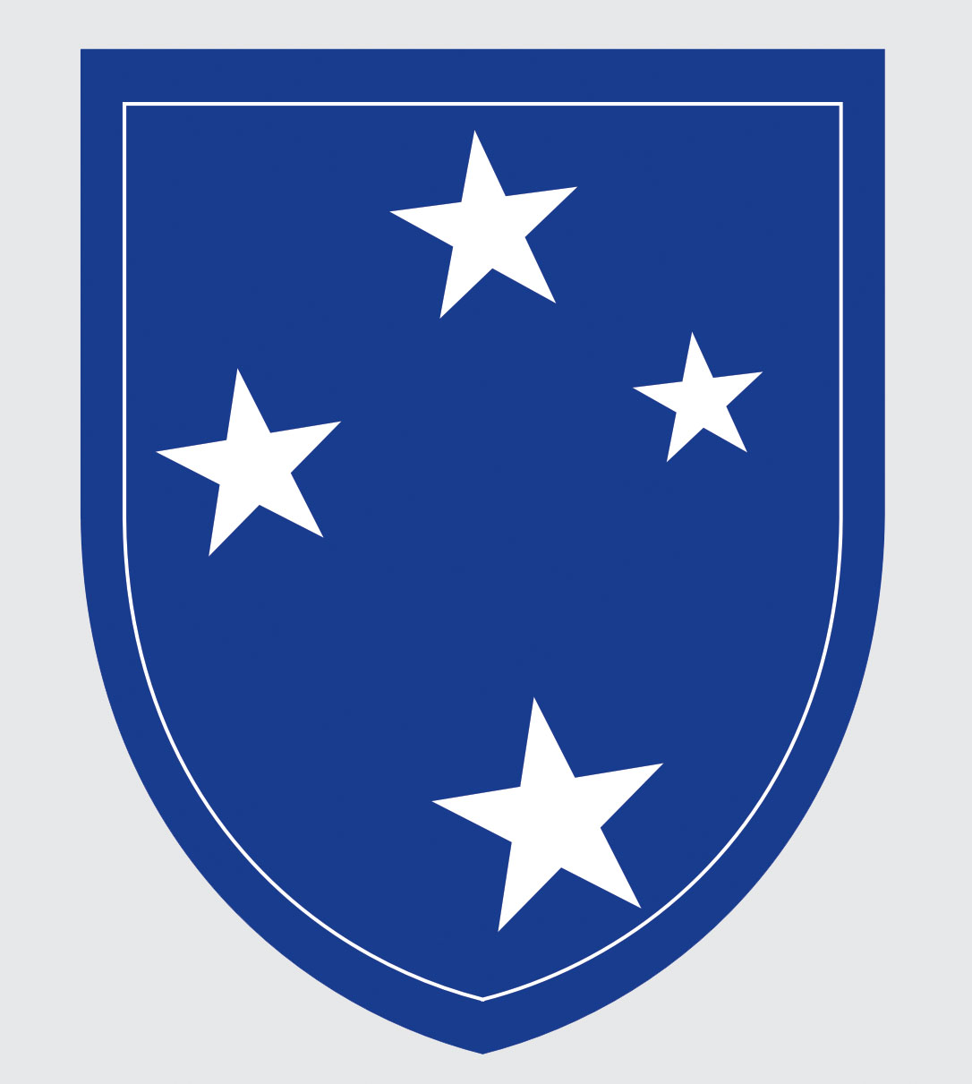 23rd Infantry Division 4 White Stars Decal North Bay