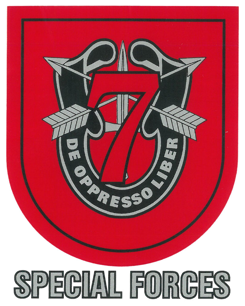 U S Army 7th Special Forces Group Decal North Bay Listings