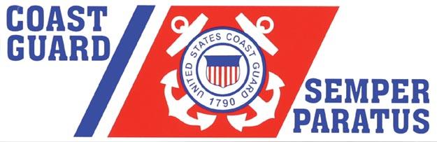 Coast Guard Semper Paratus Bumper Sticker North Bay Listings
