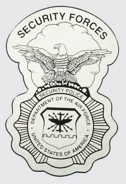 Air Force Security Forces Shield Decal | North Bay Listings