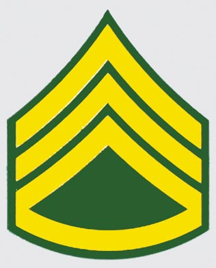 US Army E-6 SSG Rank Decal   North Bay Listings