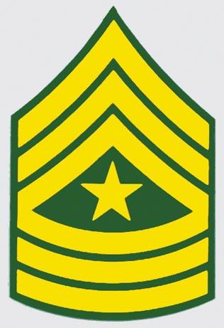 sergeant major logo