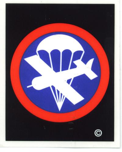 Airborne Cap Disc Decal North Bay Listings