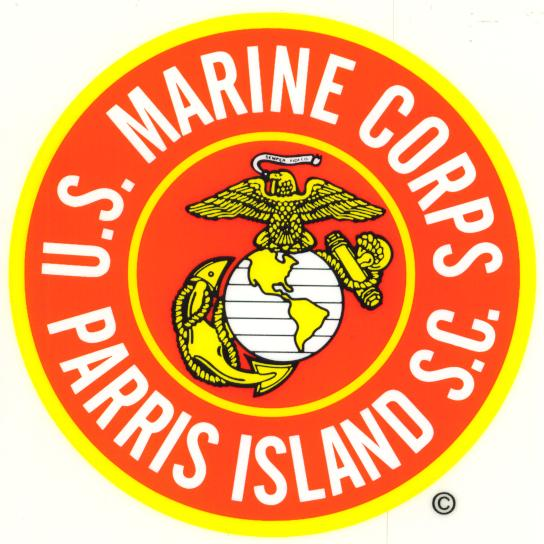 Us Marines Parris Island Sc Decal North Bay Listings