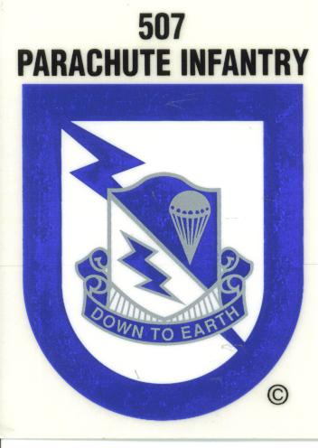 507th Crest Flash Airborne Decal North Bay Listings