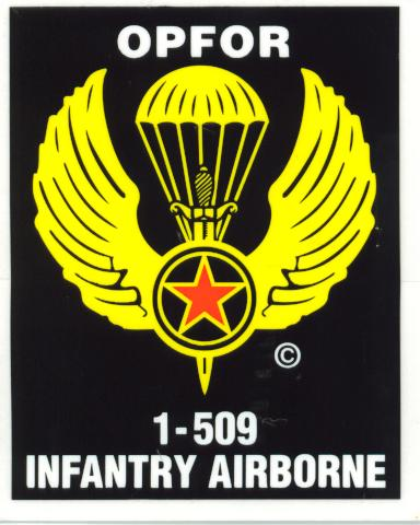 1 509 Infantry Opfor Airborne Decal North Bay Listings