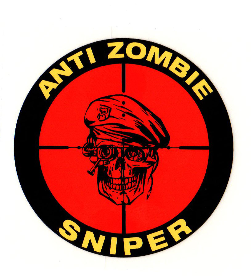 anit zombie sniper decal north bay listings rh norbay com army sniper logos marine sniper logos