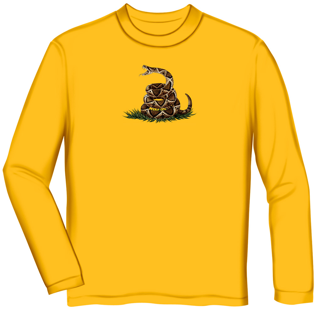 Don 39 T Tread On Me Yellow Long Sleeve T Shirt North