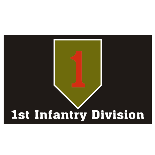 1st Infantry Division Big Red One Flag North Bay Listings
