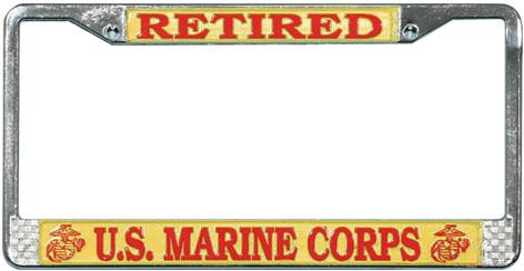 Marine License Plate Frame Retired North Bay Listings