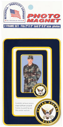 Us Navy Crest Photo Frame Magnet North Bay Listings